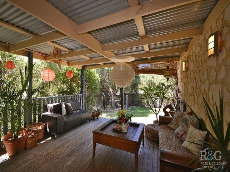 Patio Tin Roof Covered Porch Pinterest Decks