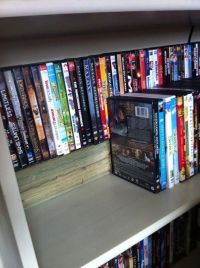 17 Best ideas about Dvd Storage Shelves on Pinterest