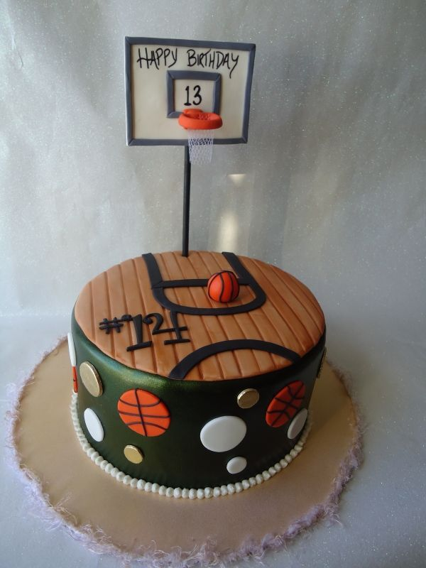 Basketball Cake Inspiring Ideas Pinterest Boys