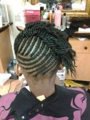 cute braids undo little girl