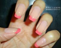 17 Best ideas about Pink Tip Nails on Pinterest | French ...