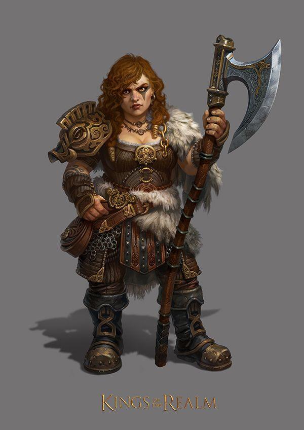 female dd dwarf
