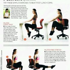 Office Chair Workouts For Abs Bedroom Wooden Don't Tell Me, You Have Time..... At The Workout. | *exercise* Butt Pinterest ...