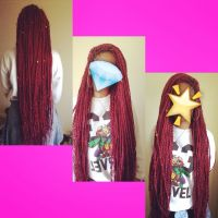 SYNTHETIC HAIR DREADLOCKS KANEKALON JUMBO ULTRA BRAID HAIR ...
