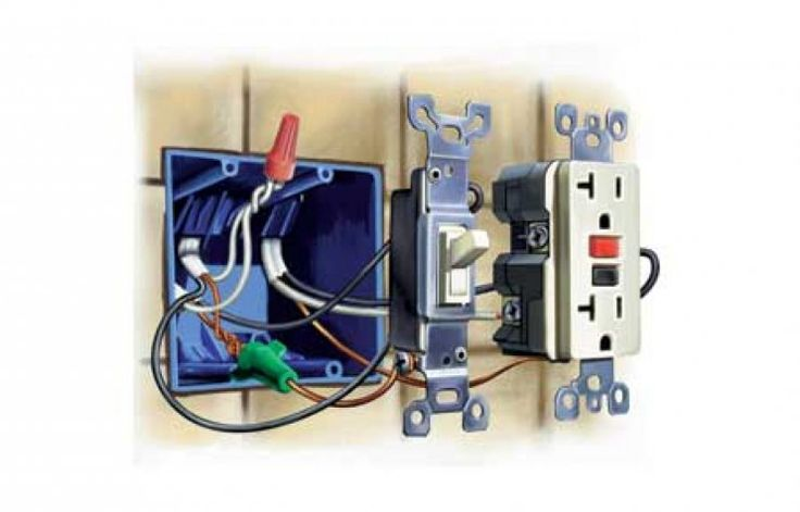 Way Switch Wiring Diagram On Gfci Outlet Wiring Diagram With 3 Wires