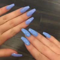 25+ best ideas about Sky blue nails on Pinterest | Pretty ...