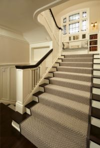 25+ best ideas about Carpet stair runners on Pinterest