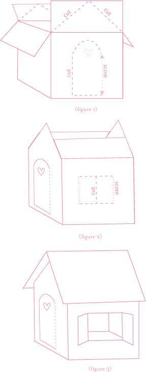 25+ best ideas about Cardboard playhouse on Pinterest