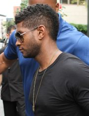 usher mohawk fade haircuts