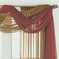 1000+ images about Curtain scarf valance on Pinterest