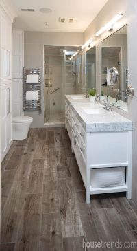 25+ best ideas about Wood floor bathroom on Pinterest ...
