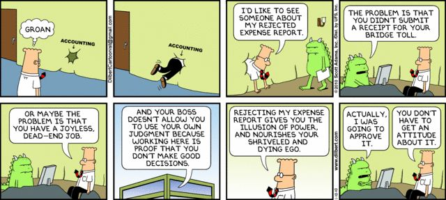 Accounting Trolls on Dilbert  Funny  Pinterest  Search