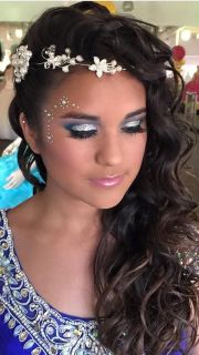 quinceanera hair and makeup
