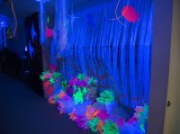 Amazing black-light decoration ideas for Ocean Commotion ...