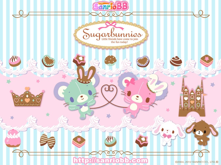 Cute Anime Wallpaper Organizer 17 Best Images About Sugarbunnies On Pinterest Sanrio