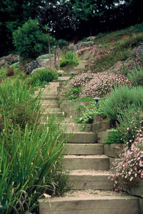 The 25 Best Ideas About Steep Hillside Landscaping On Pinterest