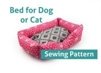 Cat Bed Sewing Pattern - WoodWorking Projects & Plans