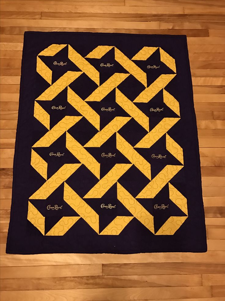 Crown Royal Quilts Ideas