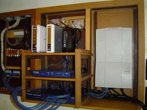 Whole House Structured Wiring / Networking Set-ups