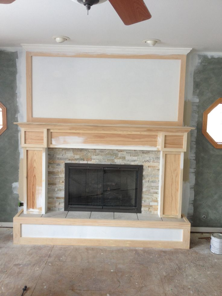 9 best images about Step by Step Fireplace Remodel on Pinterest