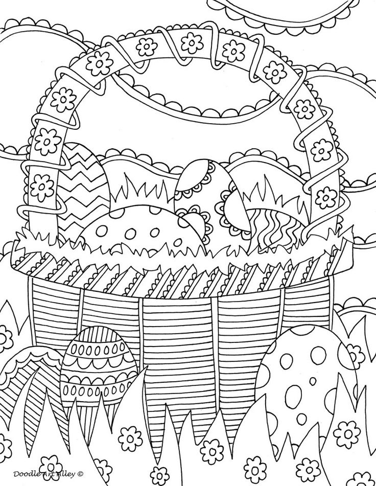 10 Best images about Easter to Color on Pinterest