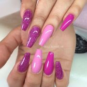 pink fuchsia purple glitter
