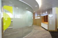 komfort curved glass office wall | Office Ideas ...