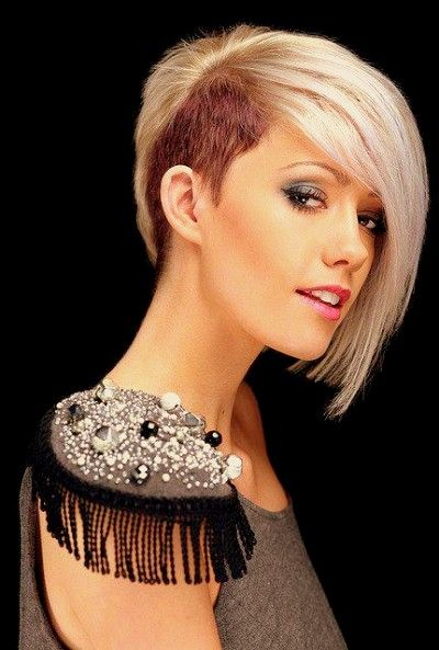 25 Best Ideas About Women's Shaved Hairstyles On Pinterest