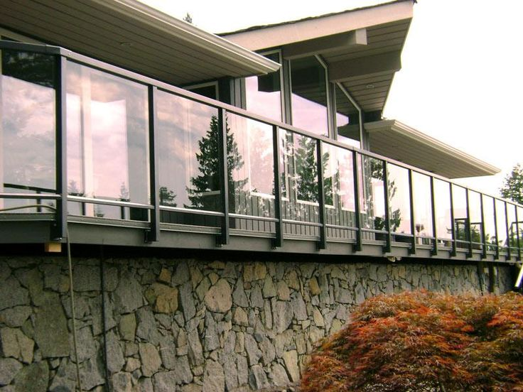 Exterior Glass Railing Vancouver Glass Railing Installations For Langley Surrey Fraser Val