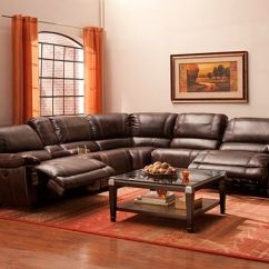Sectional Reclining Leather Sofas High Point Sofa Florence Sc Dowling 6-pc. Power-reclining | ...