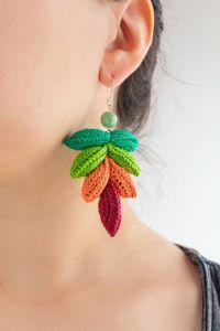 17 Best images about Crochet: Earrings on Pinterest ...