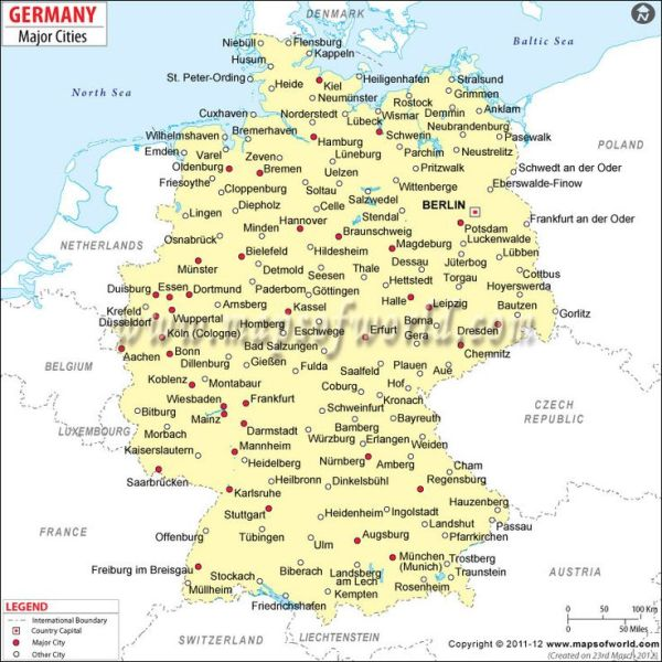 map of german cities Google Search MAPS Pinterest