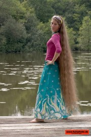wonderful ankle length hair