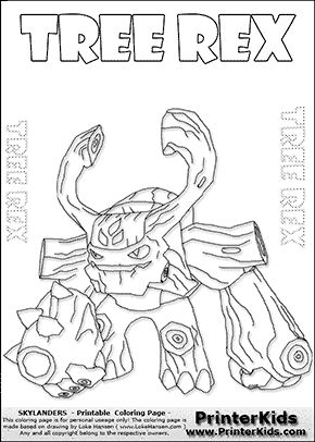 17 Best images about Skylanders color pages on Pinterest