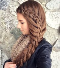 17 Best images about Complicated/Formal Hairstyles on ...