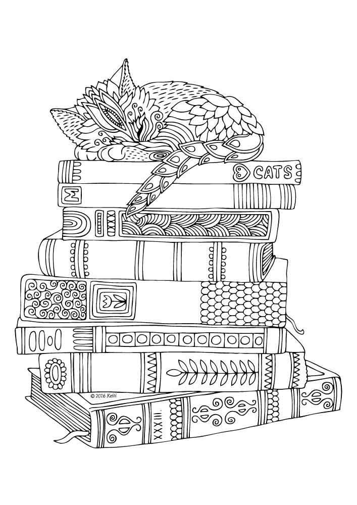 581 best images about zentangle/colouring ANIMALS on