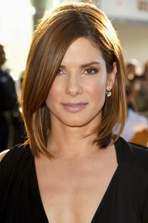 25 Best Ideas About Long Face Haircuts On Pinterest Fall Bob