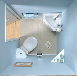 25 Best Ideas About Corner Toilet On Pinterest Corner