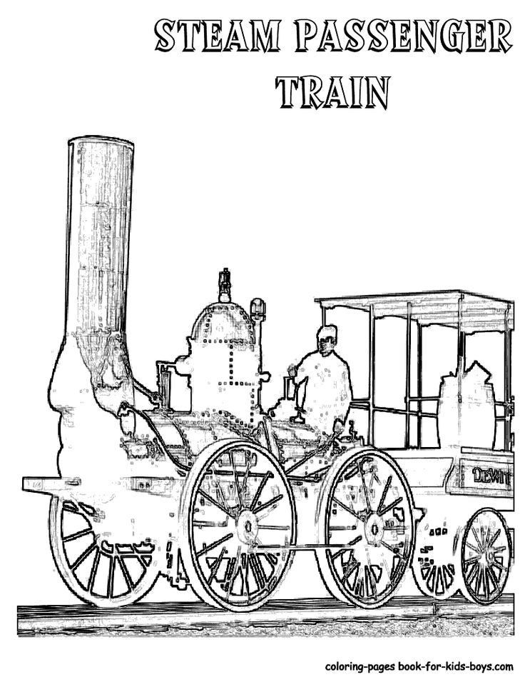 1000+ images about Ironhorse Train Coloring Pages on