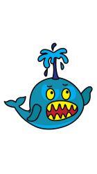 steg cartoon whale angry ritning foer drawing draw