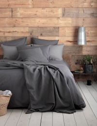 25+ best ideas about Dark grey bedding on Pinterest | Grey ...
