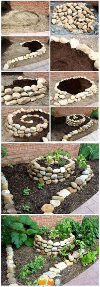 Best 25+ Stone planters ideas on Pinterest