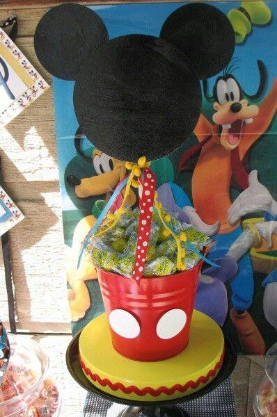 Top 25 Ideas About Centros De Mesa Mickey On Pinterest