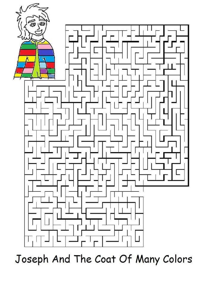 joseph and the coat of many colors sunday school lesson
