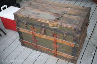 Storage Trunk Makeover :: Monthly DIY Challenge   Old ...
