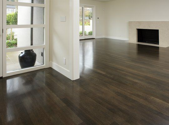 Dark stained white oak  house style  Pinterest  Stains Dark stains and Floor stain