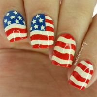 17 Best images about American Flag Nail Art Designs on ...