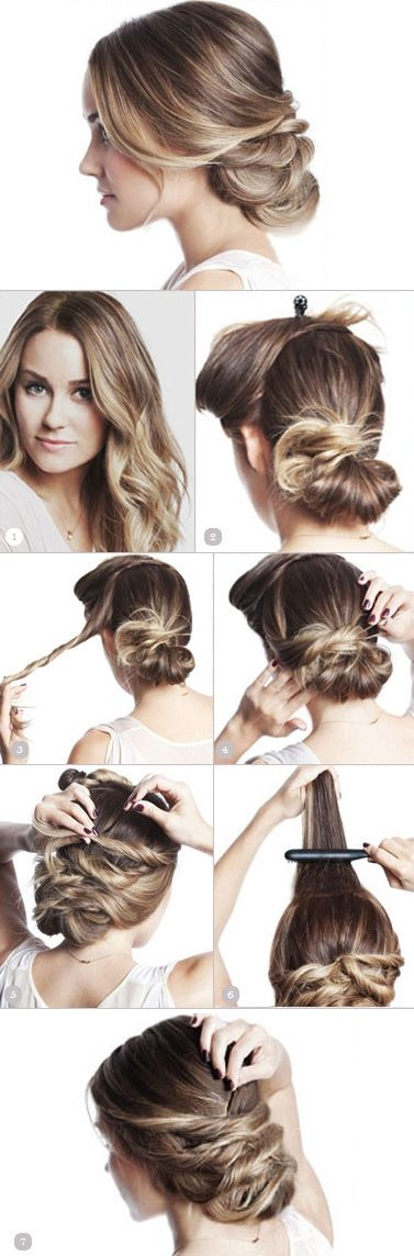 25 Best Ideas About Straight Hair Updo On Pinterest Prom Hair