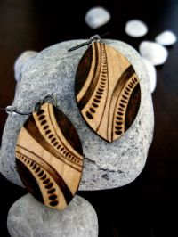25+ best ideas about Wooden earrings on Pinterest | Diy ...