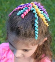 ideas crochet hair
